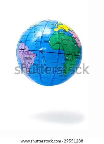 hanging up earthly marble - stock photo