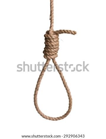 how to make a hangman noose knot
