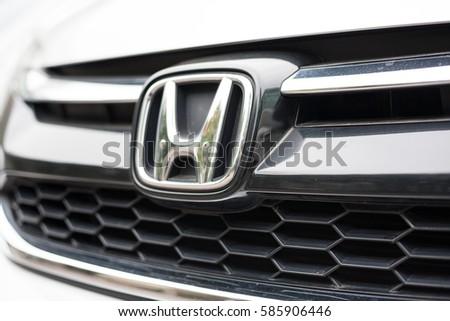 Hanoi V Ietnam February 18 2017 Honda Stock Photo Royalty Free