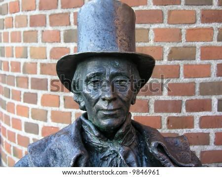 Hans Christian Andersen - stock photo