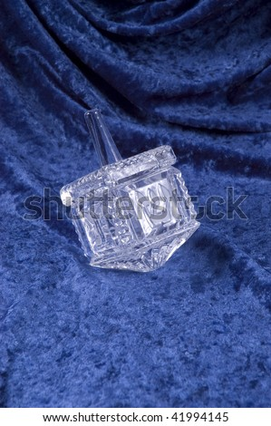 Hanukkah Dreidle - stock photo