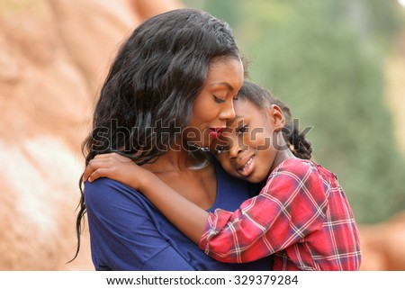 Happy African American  Child  - stock photo