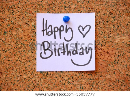 happy birthday message