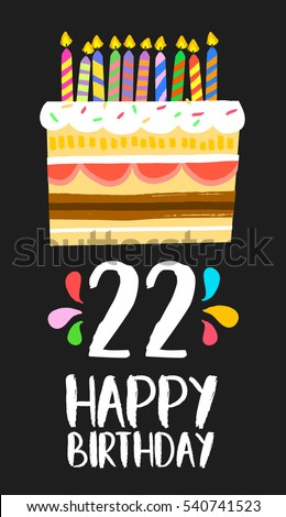 22 Birthday Card Nyustraus Exaple Resume And Cover Letter