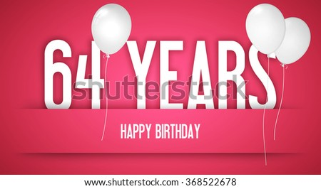Stock Photo Happy Birthday Wishes To The Girl Personalised With Number Funny Card