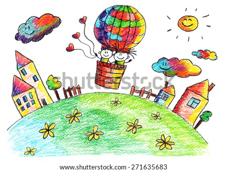 balloon drawing for kids - photo #40