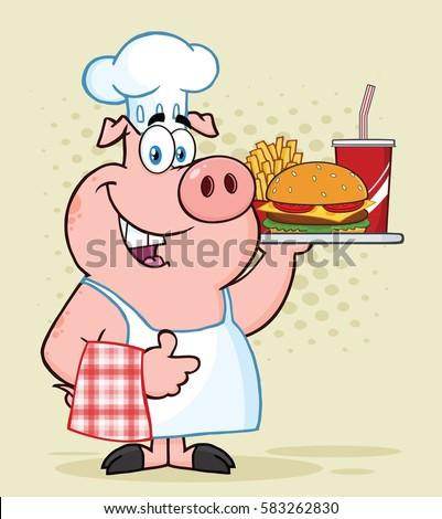 Clipart Of Chefs Cooking