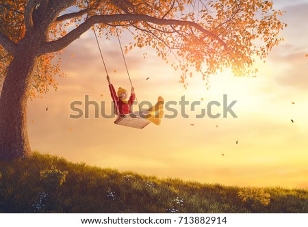 http://thumb1.shutterstock.com/display_pic_with_logo/91858/713882914/stock-photo-happy-child-girl-on-swing-in-sunset-fall-little-kid-playing-in-the-autumn-on-the-nature-walk-713882914.jpg
