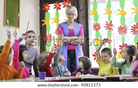 Stunning Kindergarden Teacher Stock Images Royaltyfree Images  Vectors  With Inspiring Happy Child Kids Group Have Fun And Play At Kindergarden Indoor Preschool  Education Concept With Teacher With Nice Upvc Garden Sheds Also Weather Welwyn Garden City Met Office In Addition  X  Garden Sheds And Perrywood Garden Centre As Well As Stratford To Covent Garden Additionally Pineapple Dance Studios Covent Garden From Shutterstockcom With   Inspiring Kindergarden Teacher Stock Images Royaltyfree Images  Vectors  With Nice Happy Child Kids Group Have Fun And Play At Kindergarden Indoor Preschool  Education Concept With Teacher And Stunning Upvc Garden Sheds Also Weather Welwyn Garden City Met Office In Addition  X  Garden Sheds From Shutterstockcom