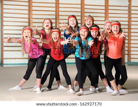 Happy children - stock photo