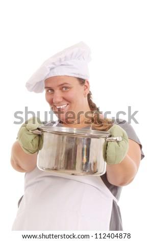 Happy cook - stock photo