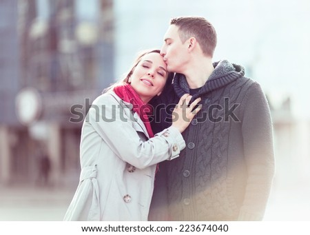 Happy couple - stock photo