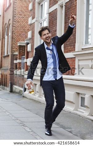 Drunk Man Stock Images Royalty Free Images Amp Vectors