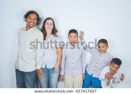 happy family, adoption