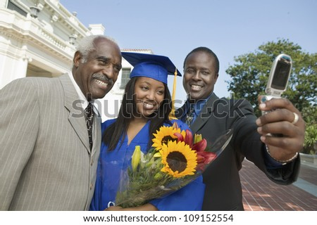 Family Portrait Self Taking Stock Photos, Illustrations, and Vector ...