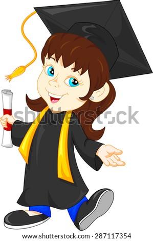Happy graduate - stock photo