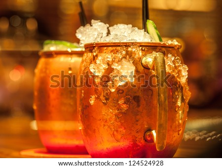 Happy Hour Cocktail - stock photo