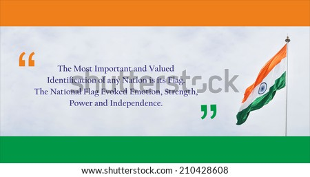 Happy Independence Day - Illustration - stock photo