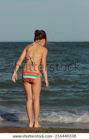 Nudists in the crimea girl underwater in flippers - 1 2