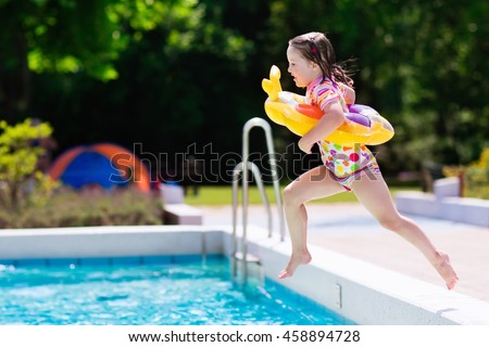 Swimming Girl Stock Images Royalty Free Images Vectors Shutterstock