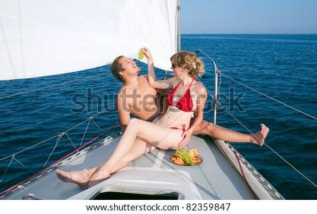 Порно фото на яхте