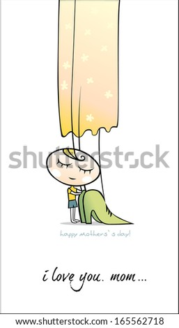 Happy mother`s day! - stock photo