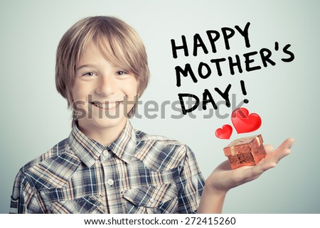 happy mother's day - stock photo