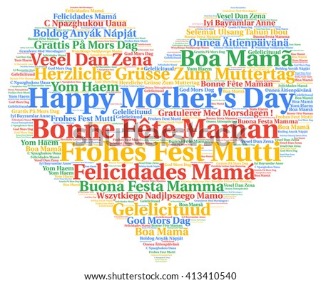 Happy Mother's day in different languages