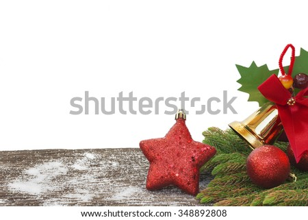 happy new year, christmas, merry christmas isolate on the white background