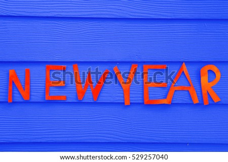 happy new year 2016 design on blue background