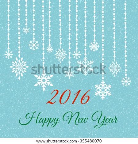 happy 2016 new year  wish  - stock photo