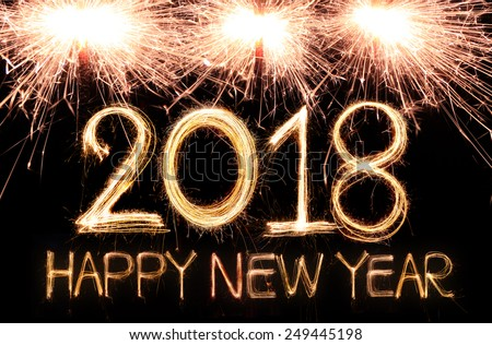 happy new year 2018 written sparkle stock photo 314407703 happy new year 2018 written with sparkle firework