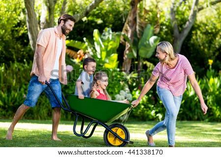 pushing parents