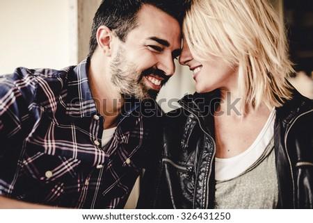 Happy relationship. Love. - stock photo