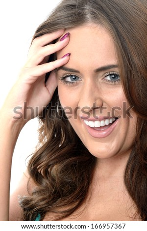 Happy Relaxed Young Woman