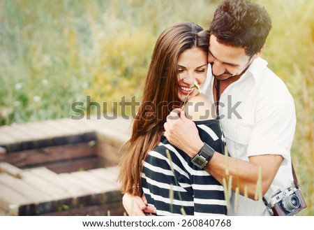 stock-photo-happy-romantic-couple-in-love-and-having-fun-with-daisy-at-the-lake-outdoor-in-summer-day-beauty-260840768 Trouble-Free Premium PartnerVermittlung Solutions - Updated Bierhocker