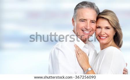 Happy senior couple.  - stock photo