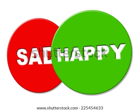 Happy Sign Meaning Signboard Message And Joyful