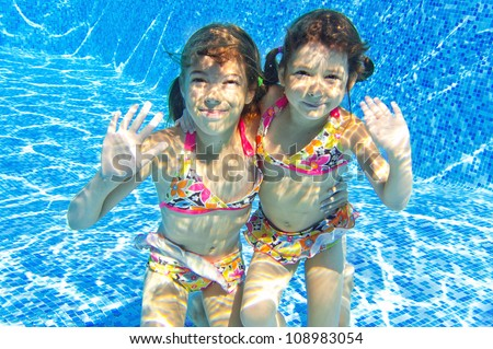 Family pool stock photo 85552996 shutterstock - Swimming pool girl christmas vacation ...