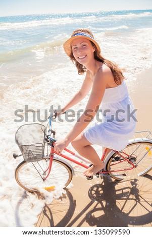 happy summertime joy - stock photo