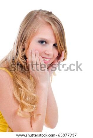 blonde-english-teen-spongebob-naked-booty