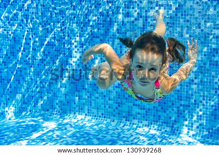 Child Underwater Stock Images Royalty Free Images Vectors Shutterstock