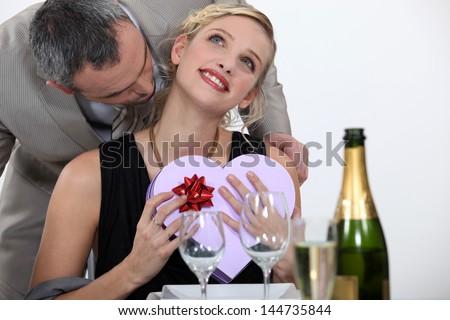 Happy valentine day honey - stock photo