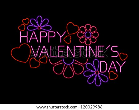 Happy Valentine's Day Sign - raster