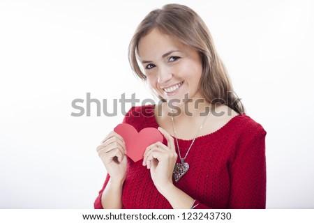 Happy valentines day! - stock photo