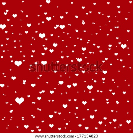 happy valentines day cards with ornaments - stock photo