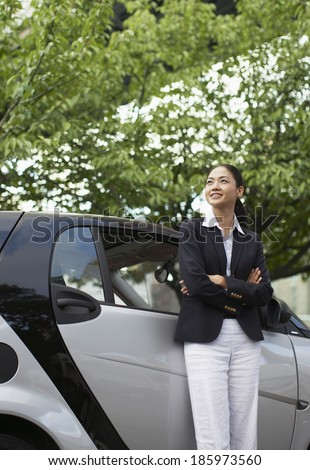 Happy Woman by Microcar