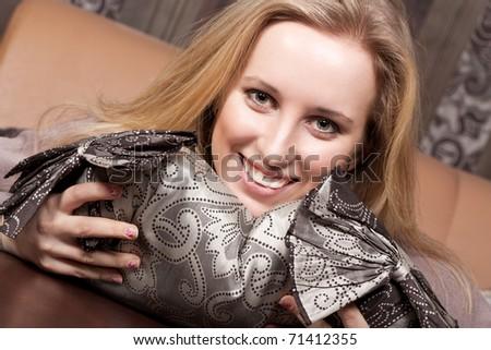 Happy young girl - stock photo