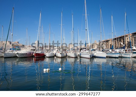 Harbor in Marcelle, France