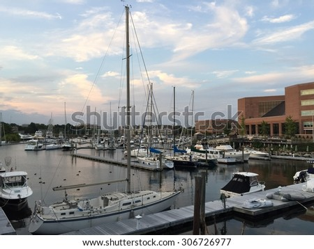 Harbor in Stamford, Connecticut